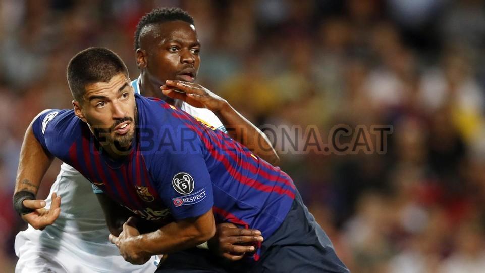 صور مباراة : برشلونة - PSV إندهوفن 4-0 ( 18-09-2018 )  98934503