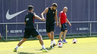 Recovery session after Spanish Super Cup first leg