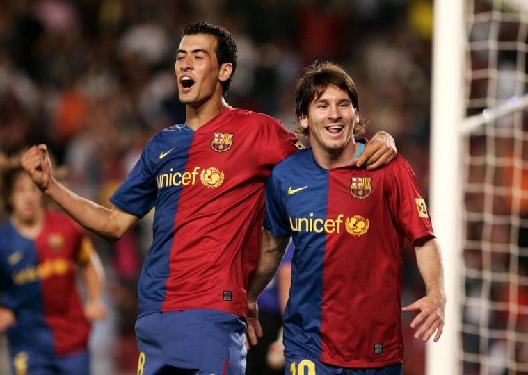 Image result for Sergio Busquets barcelona 2008