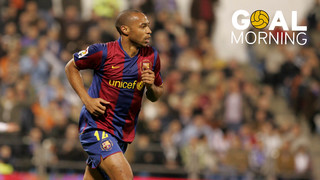 Goal Morning! We start the day with Thierry Henry...