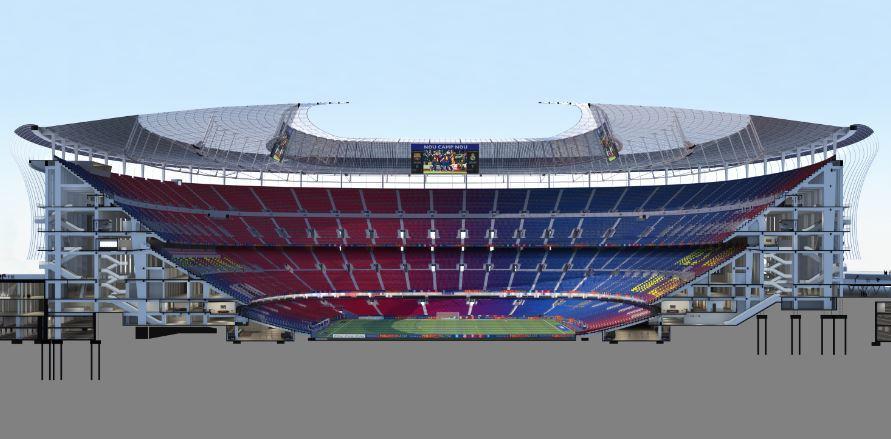 La evoluci n del proyecto fc barcelona for Puerta 0 palau blaugrana