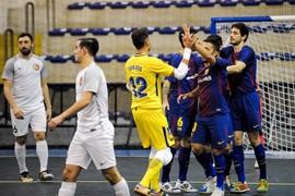 FC Barcelona 6 – Zvv 't Knooppunt 0