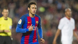 The technical wizardry of Messi, Neymar, and Iniesta in 3–0 victory over Sevilla