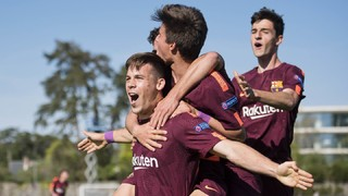 Manchester City 4 - 5 Juvenil A (4-5) Semifinal UEFA Youth League 2017/2018