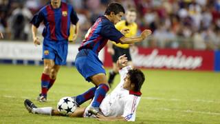 قبل 15 عاماً، تقابل برشلونة وميلان على الأراضي الأمريكية، حيث كان الفوز من نصيب البلاوغرانا (2-0) بهدفي كواريسما ورونالدينيو