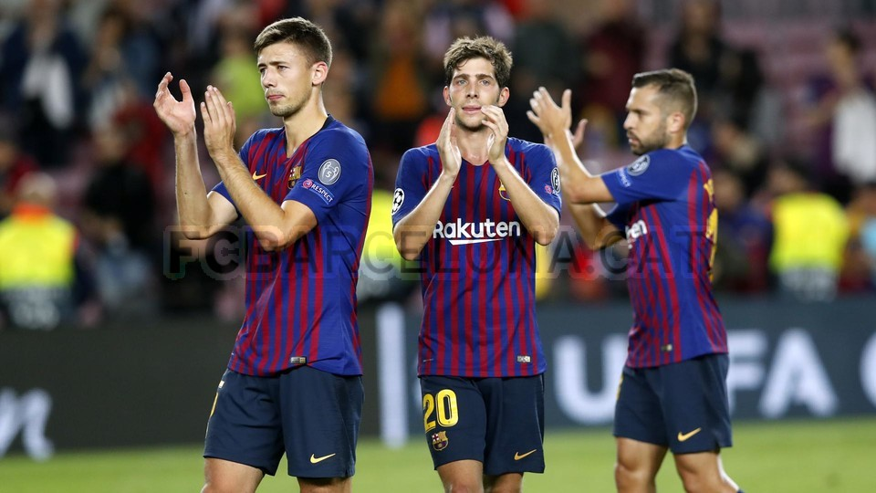 صور مباراة : برشلونة - إنتر ميلان 2-0 ( 24-10-2018 )  101529064
