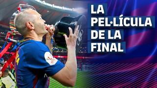 A festa na Fan Zone, a viagem, a chegada ao estádio, a comemoração e o regresso dos campeões a Barcelona...