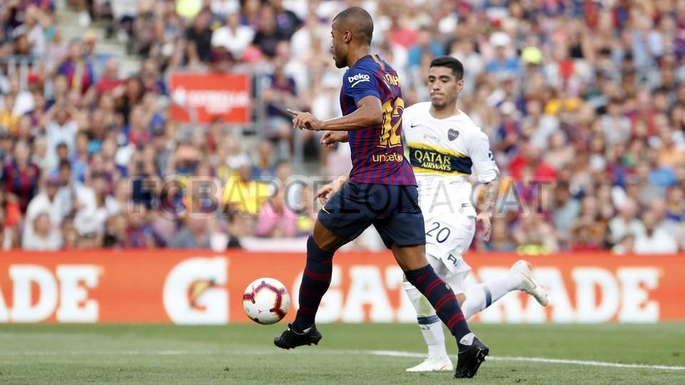 صور مباراة : برشلونة - بوكا جونيورز ( 16-08-2018 )  95975145