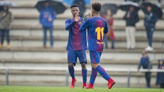 The top five goals of the week from La Masia (3-4 February)