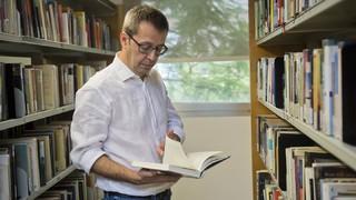 Edu Castro, un apassionat de la literatura