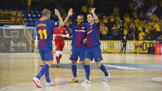 FC Barcelona Lassa 3 - Santiago Futsal 1 (LNFS)