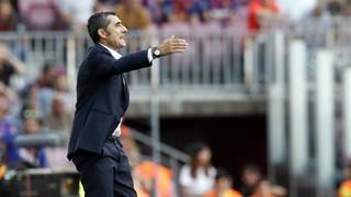 """Ernesto Valverde: """"Hem tingut paciència per dominar el partit"""""""
