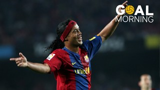 Goal Morning! Ronaldinho shows us how to shoot fouls!