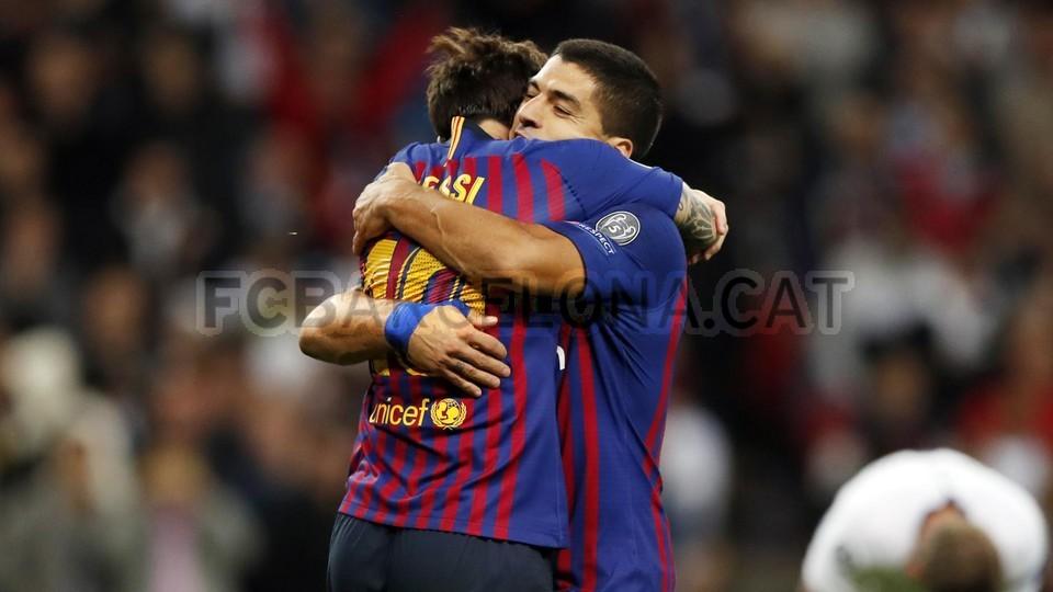صور مباراة : توتنهام - برشلونة 2-4 ( 03-10-2018 )  100648170