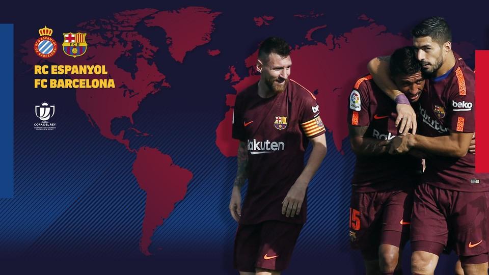 Cuando y donde se puede ver el RCD Espanyol - FC Barcelona - FC ...