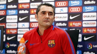The Barça coach in his pre-game press conference pointed out the 'players are only too aware it is a derby'