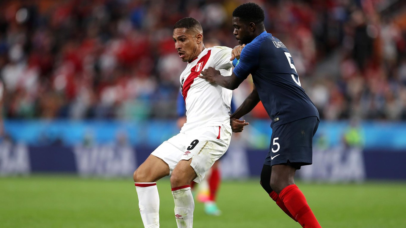 Both Barça players progress with France after the victory by Deschamps' team against Peru (1-0)