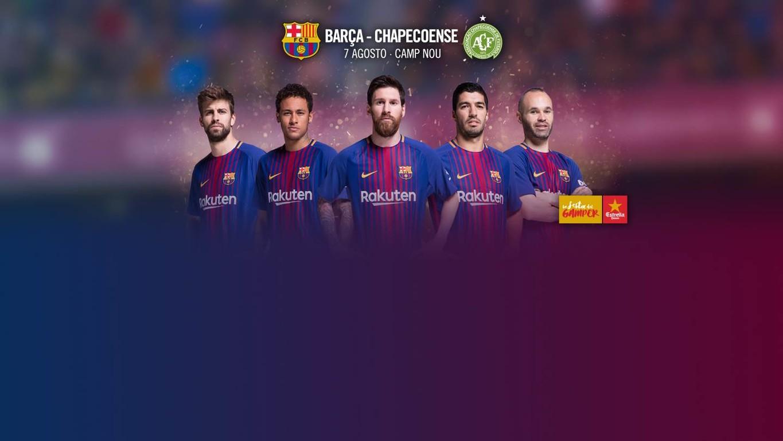 Se confirma la fecha del estreno del FC Barcelona 2017/18 en el Camp Nou, en el tradicional torneo de verano que, este año, tendrá como invitado al equipo brasileño, que en noviembre pasado sufrió un grave accidente aéreo