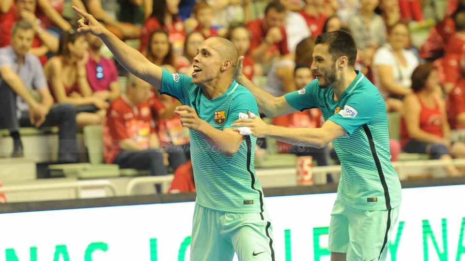El Barça pasa a la final tras vencer en los penaltis en Murcia