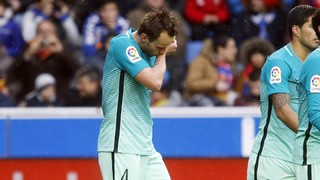 """Ivan Rakitic: """"Estem contents pel resultat i pel joc però ens dol veure Aleix Vidal així"""""""