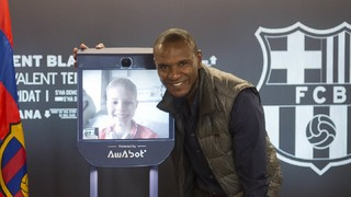A new remote controlled robot will allow children in hospital to visit the museum and Camp Nou and it will bear the name of the first child to benefit from the new project