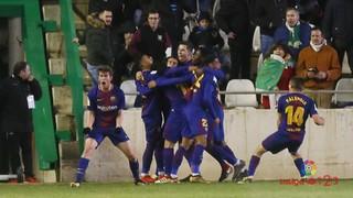 Córdoba 1 - FC Barcelona B 2