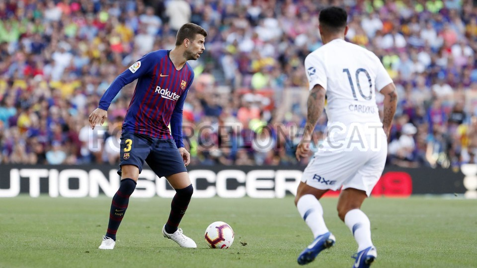 صور مباراة : برشلونة - بوكا جونيورز ( 16-08-2018 )  95974380