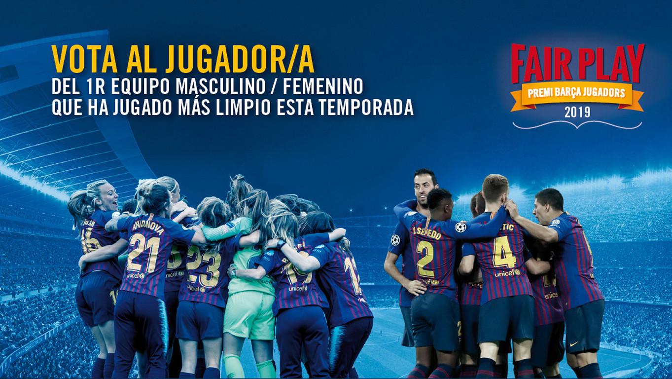 Hasta el 25 de junio está abierta la campaña popular de votaciones, que a partir de esta edición incluye también al FCB Femenino