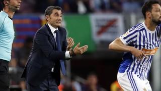 """Ernesto Valverde: """"El públic ha fet encara més especial el comiat d'Iniesta"""""""