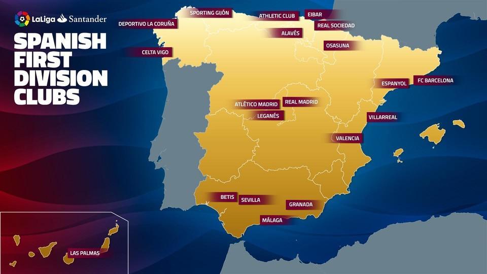 Destination La Liga FC Barcelonas Road Trips In The - Leganés map