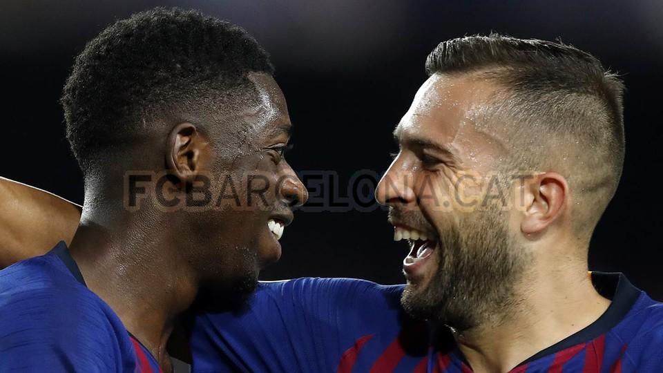 صور مباراة : برشلونة - PSV إندهوفن 4-0 ( 18-09-2018 )  98934509