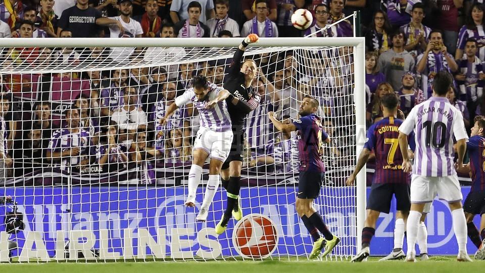 صور مباراة : بلد الوليد - برشلونة 0-1 ( 25-08-2018 )  96710893