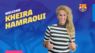 Kheira Hamraoui strengthens women's team