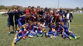 L'Infantil A, campió de Catalunya