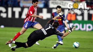 Goal morning! Andrés Iniesta against Atlético de Madrid