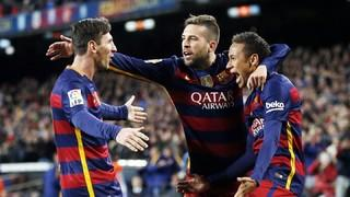 FC Barcelona 4 – RCD Espanyol 1 (3 minutes)