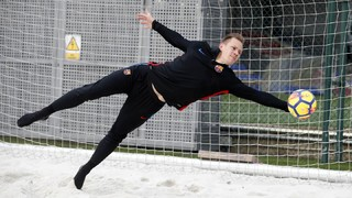 Training with... Marc-André ter Stegen