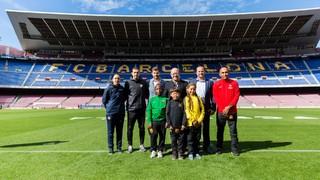 Inaugurado el Torneo Internacional FCBEscola 2018, el más grande de la historia
