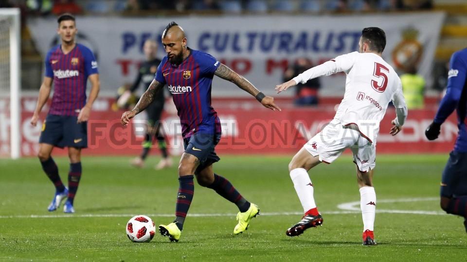 صور مباراة : كولتورال ليونيسا - برشلونة 0-1 ( 31-10-2018 ) كأس ملك إسبانيا 101924334