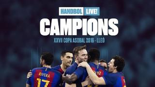FC Barcelona Lassa are XXVII ASOBAL Cup Champions. Congratulations!