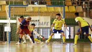 Gran Canaria FS - FC Barcelona Lassa: Certifican la segunda plaza (4-7)