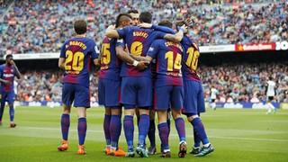 FC Barcelona - València (1 minut)