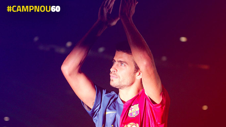 As mensagens dos jogadores culés nas redes sociais para celebrar os 60 anos do estádio do FC Barcelona.