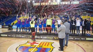 FC Barcelona Lassa 4 - Girona 1 (OK Liga)