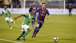 Al-Ahli 3 - FC Barcelona 5 (4 minutes)