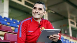 El dia que Valverde va guanyar i va marcar al Camp Nou