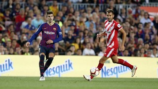 With his equaliser against Girona on LaLiga Matchday 5, the centre back has now scored in every season he has played for Barça