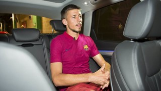 We discover a more presonal side to Barça's new signing in an exclusive interview carried out with the French defender on his first day as a blaugrana