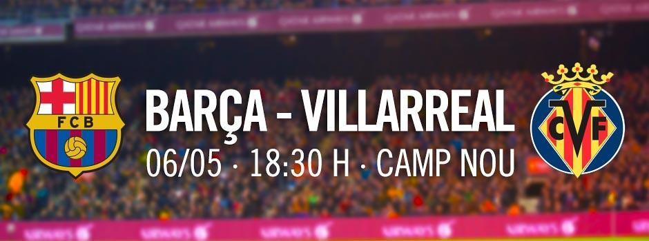 Billets FCB - Villarreal