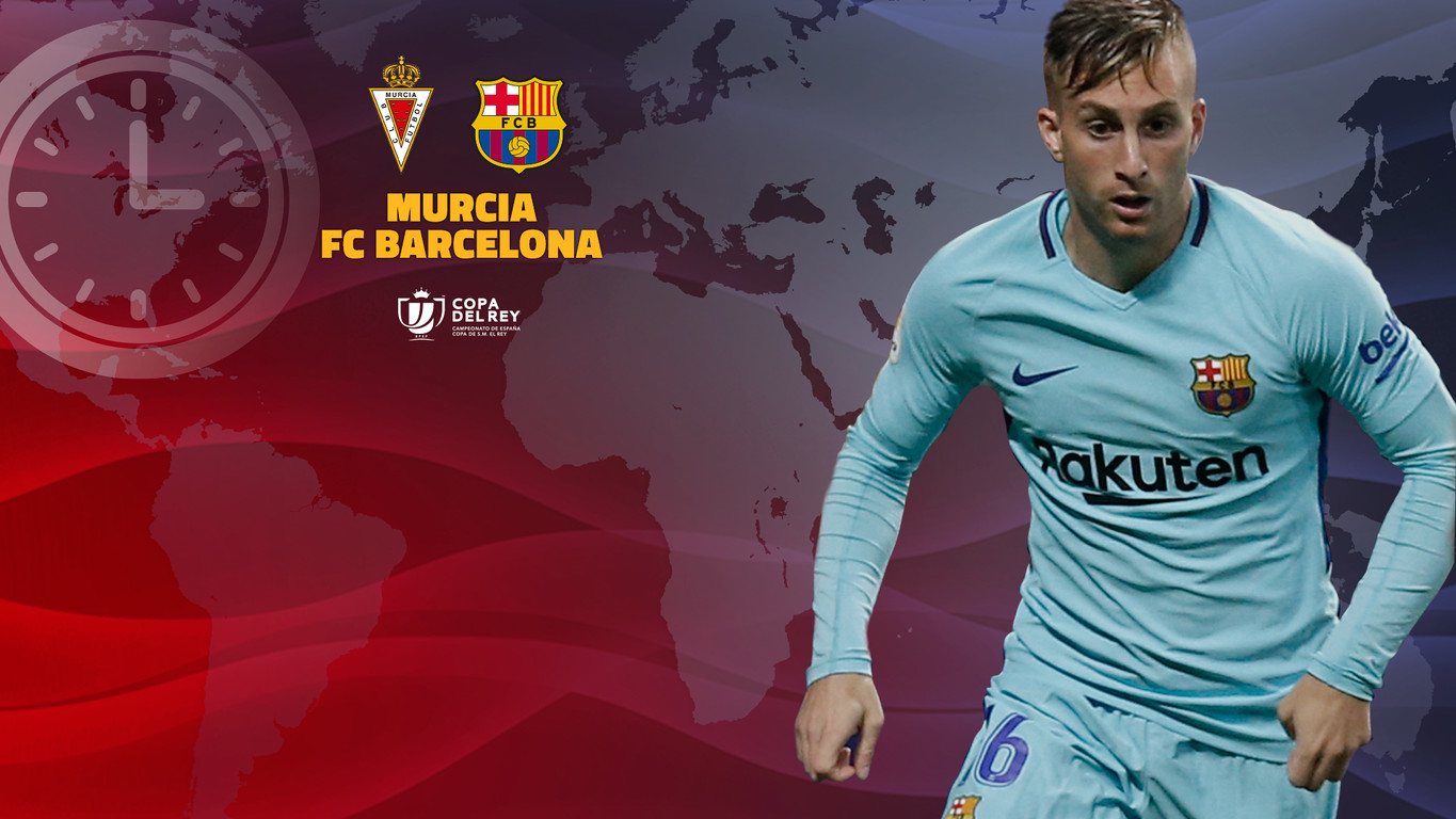 Find here your guide to kick off times and TV coverage all around the world for the blaugranes' last 32 first leg Copa del Rey encounter